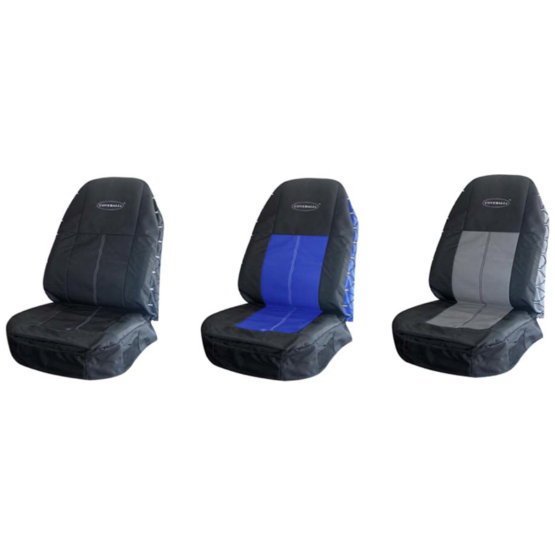 Seat covers compatible with motorhome driver and passenger from colour number PL402.