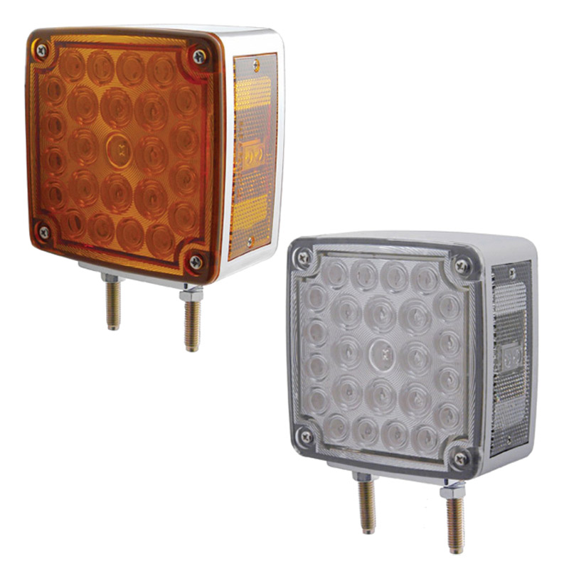 29 LED Keworth Turn Signal Set Amber LEDs// Clear Lens