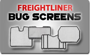 Freightliner Bug Screens