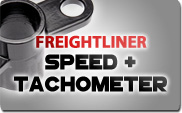 Freightliner Speed and Tachometer