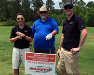 Golfing for a good cause, 2015.