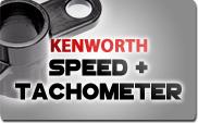 Kenworth Speed and Tachometer