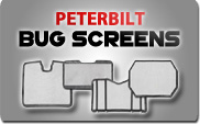 Peterbilt Bug Screens
