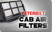 Peterbilt Cab Air Filters