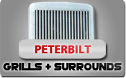 Peterbilt Grills and Surrounds