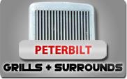 Peterbilt Grills and Surrounds