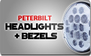 Peterbilt Headlights and Bezels