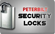 Peterbilt Security Locks