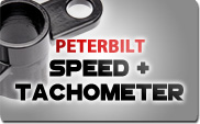 Peterbilt Speed and Tachometer
