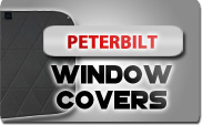 Peterbilt Window COvers