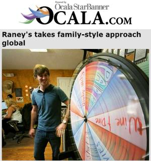 Raney's Prize Wheel