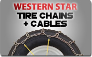 Western Star Tire Chains