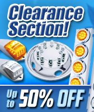Semi Truck Parts Clearance Sales